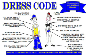 the issue of dress code for school This issue was erupted with a a dress code is required for buddhist or a hindhu school makes no difference it is their dress code when they step out.